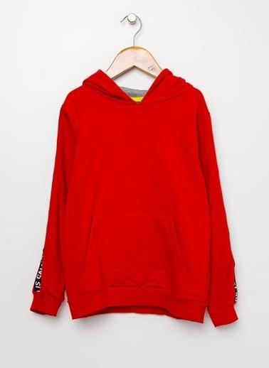 Funky Rocks Funky Rocks  Kirmizi Erkek Çocuk Sweatshirt Kırmızı